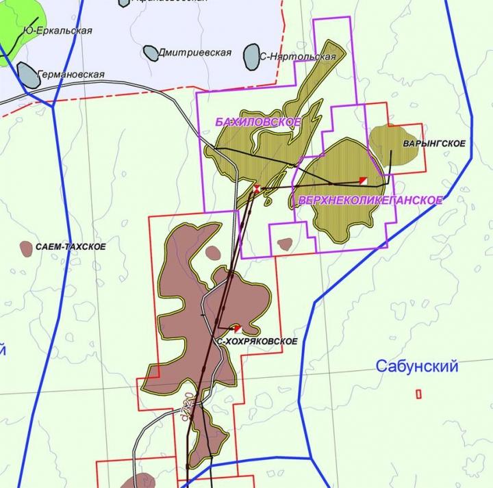 Рис. 1. Обзорная карта района