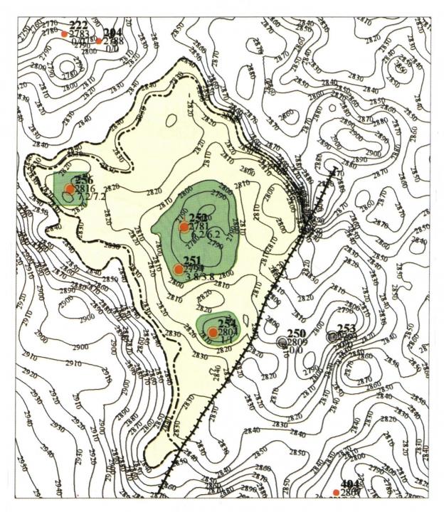 Южно-Киняминское нефтяное месторождение , пласт  Ю11А