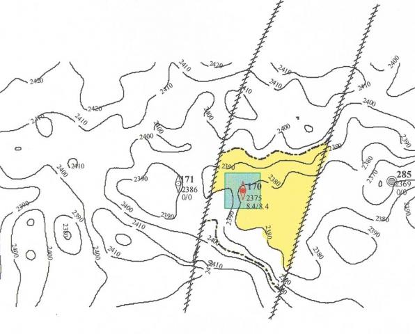 Рис.2. Чапровское месторождение, пласт АС111