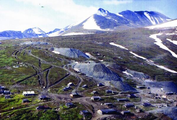 Рис.6. Вид на месторождение Додо с участка Павловка