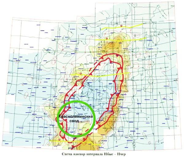 Рис.4. Область замыкания неокомского бассейна на барремское время (по Корневу В.А., 2004)