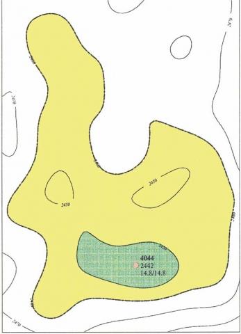 Рис.6. Встречное месторождение