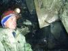 Рис.5. В одном из хрусталеносных гнезд штольни 38