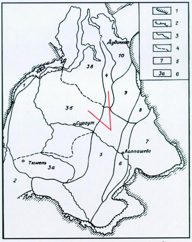 Схема районирования